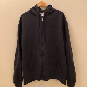 Vintage Champion Zip Up Hoodie Jacket Size 2XL